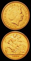 London Coins : A165 : Lot 2493 : Britannia Gold Ten Pounds One Tenth Ounce 2001 S.BN5, UNC and lustrous with some light hairlines, Qu...