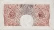 London Coins : A165 : Lot 359 : Ten Shillings Beale, B265 Red/Brown issue 1950, last series 98B 708662, choice UNC