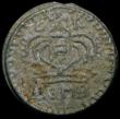 London Coins : A165 : Lot 3678 : India - Bombay Presidency 2 Pice 1771 Tin KM#157.1 30.72 grammes, About Fine, with appears a detecto...