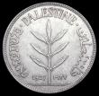 London Coins : A165 : Lot 3752 : Palestine 100 Mils 1927 KM#7 UNC toned, with a small tone spot