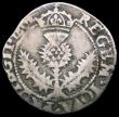 London Coins : A165 : Lot 3766 : Scotland Quarter Thistle Merk James VI 1602 Eighth Coinage S.5500 approaching Fine