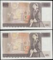 London Coins : A165 : Lot 579 : Ten Pounds Kentfield QE2 pictorial and Florence Nightingale B360 First & LAST RUN issues 1991 (2...