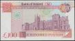 London Coins : A165 : Lot 749 : Northern Ireland Bank of Ireland £100 dated 28th August 1992 series A058906, Pi...