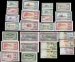 London Coins : A165 : Lot 853 : Albania (26) comprising a 1976 specimen set of 7 notes 1 Lek, 3, 5, 10, 25, 50, 100 Leke Pick 40s2 t...