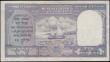 London Coins : A165 : Lot 864 : Burma 10 Rupees Burma Currency Board Pick 32 ND (1947) Red overprint on Reserve Bank of India 10 Rup...