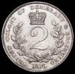 London Coins : A166 : Lot 1108 : Essequibo and Demerary 2 Guilders 1816 KM#14 UNC or near so and a rare one-year type with a low mint...