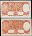 London Coins : A166 : Lot 114 : Australia Commonwealth 10 Shillings (2) series F/81 866119, signed Armitage & McFarlane issued 1...