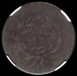 London Coins : A166 : Lot 1215 : USA Cent 1794 in an NGC holder Good Details - Private Countermark