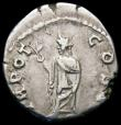 London Coins : A166 : Lot 1430 : Roman Denarius Aelius, Rome 137, Rev. Spes (RCV 3977) VF