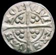 London Coins : A166 : Lot 1494 : Penny Edward II Canterbury Mint Class 15a S.1461 Near VF