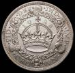 London Coins : A166 : Lot 1557 : Crown 1928 ESC 368, Bull 3633 EF/GEF in an LCGS holder and graded LCGS 65