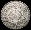 London Coins : A166 : Lot 1560 : Crown 1933 ESC 373, Bull 3633 VF the obverse with a spot on the King's hair