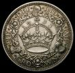 London Coins : A166 : Lot 1566 : Crown 1933 ESC 373, Bull 3644 EF/About EF with light toning, the obverse with some light contact mar...