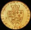 London Coins : A166 : Lot 1654 : Guinea 1798 as S.3729, Line between crown and shield in an NGC holder and graded MS62 Lustrous with ...