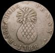 London Coins : A166 : Lot 2629 : Barbados Penny 1788 KM#Tn8 Fine
