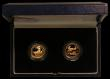 London Coins : A166 : Lot 632 : GB and USA Ladies of Freedom a Two-coin Gold Set comprising Gold Proof Britannia £10 1996 and ...