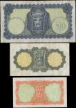London Coins : A167 : Lot 1532 : Ireland (Republic) Central Bank Lady Lavery issues (3) comprising 10 Shillings Pick 63a (PMI LTN47, ...