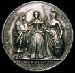 London Coins : A167 : Lot 1748 : Coronation of Caroline 1727 34mm diameter in silver by J.Croker, Eimer 512 the official Coronation i...