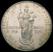 London Coins : A167 : Lot 1759 : German States - Bavaria 1855 2 Gulden Restoration of the Madonna Statue Commemorative Issue, unliste...