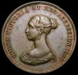 London Coins : A167 : Lot 1778 : Queen Victoria Diamond Jubilee 1897 37mm diameter in bronze by Jenkins after T.Brock Obverse: Bust l...