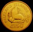 London Coins : A167 : Lot 1918 : Falkland Islands 150 Pounds Gold 1979 World Conservation Series Obverse: 'Machin' Bust of ...