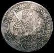 London Coins : A167 : Lot 1936 : German States - Saxony Thaler 1614 swan KM#44 GF or slightly better, the portraits both with good de...