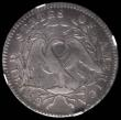 London Coins : A167 : Lot 2043 : USA Half Dollar 1795 A over E in STATES Breen 4559, Overton 113a, in an NGC holder VF Details, Obver...