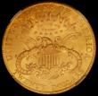 London Coins : A167 : Lot 2053 : USA Twenty Dollars Gold 1904S Breen 7344 in an NGC holder and graded MS62