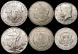 London Coins : A167 : Lot 2259 : USA (7) Dollars (5) 1878CC Bright VF, 1881S UNC or near so and lustrous, 1881 O A/UNC and lustrous, ...