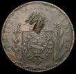 London Coins : A167 : Lot 2295 : Brazil - Maranhao 40 Reis undated (1835) large M countermark on host coin Brazil 80 Reis 1832, KM#40...