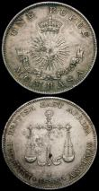 London Coins : A167 : Lot 2317 : German East Africa (2) One Rupie 1910J KM#10 UNC the obverse toned, the reverse with good lustre, a ...