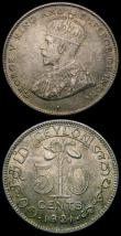 London Coins : A167 : Lot 2334 : India (2) Half Rupee 1840 as M#456.1 but with .W.W incuse on the truncation EF and lightly toned, Qu...