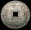London Coins : A167 : Lot 2378 : Tonkin (North Vietnam) - French Protectorate 1/600th Piastre 1905 KM#1 Zinc issue, the only currency...