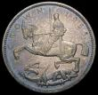 London Coins : A167 : Lot 2408 : Crown 1935 Specimen ESC 376, Bull 3652 UNC and attractively toned, with a few minor contact marks, i...