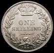 London Coins : A167 : Lot 2520 : Shilling 1884 ESC 1343, Bull 3074, Davies 921 dies 7D, Lustrous UNC a very pleasing example the obve...