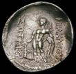 London Coins : A167 : Lot 330 : Ancient Greece -Thasos, Thrace Silver Tetradrachm. (After 148BC)  Obverse Head of Dionysus right, wr...
