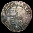 London Coins : A167 : Lot 381 : Groat Henry VIII Posthumous issue in debased silver, Tower Mint, Pellets in annulets in forks on the...