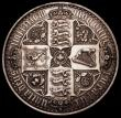 London Coins : A167 : Lot 473 : Crown 1847 Gothic UNDECIMO ESC 288, Bull 2571 NEF with some scratches and hairlines in the obverse f...