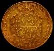 London Coins : A167 : Lot 602 : Guinea 1733 S.3674 Fine, Ex-Jewellery