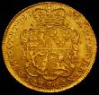 London Coins : A167 : Lot 603 : Guinea 1734 S.3674GF/NVF with light haymarking on the reverse, a hard date to find in any grade EX L...