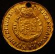 London Coins : A167 : Lot 660 : Half Guinea 1808 S.3737 Fine, holed at the top