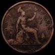 London Coins : A167 : Lot 872 : Penny 1862 VIGTORIA error legend a recently discovered type, previously unlisted by Freeman, Gouby, ...