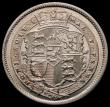 London Coins : A167 : Lot 913 : Shilling 1819 variety on ESC 1235, Bull 2152 with no lower colon dot after D of D:G: UNC and unusual