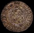 London Coins : A168 : Lot 1079 : Groat Charles I Aberystwyth Mint Small Bust well within the inner circle S.2893 mintmark Book, Near ...
