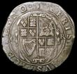 London Coins : A168 : Lot 1089 : Halfcrown Charles I Group II, type 2c, Second Horseman, Reverse with oval shield S.2771 mintmark Har...