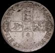 London Coins : A168 : Lot 1129 : Crown 1687 TERTIO ESC 78, Bull 743 EF and retaining some original mint lustre, also with some haymar...