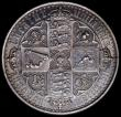 London Coins : A168 : Lot 1146 : Crown 1847 Gothic UNDECIMO ESC 288, Bull 2571 NEF with some contact marks and hairlines