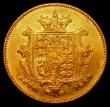 London Coins : A168 : Lot 1270 : Half Sovereign 1837 Marsh 413 EF/VF a little weakly struck on parts of the shield. The portrait ligh...
