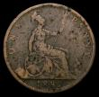 London Coins : A168 : Lot 1457 : Penny 1882 Freeman 112 dies 11+N (No H below date) NVG, in an LCGS holder and graded LCGS 4, extreme...
