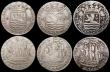 London Coins : A168 : Lot 1886 : Netherlands - Zeeland 6 Stuivers (5) 1763 KM#90.2 Fine, 1772 KM#90.2 Fine or better with some scratc...